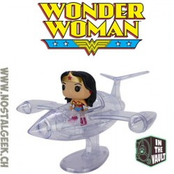 Funko Pop Rides DC Universe Wonder Woman And invisible jet Vaulted
