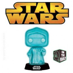Funko Pop! Star Wars Holographic Emperor Phosphorescent Edition Limitée