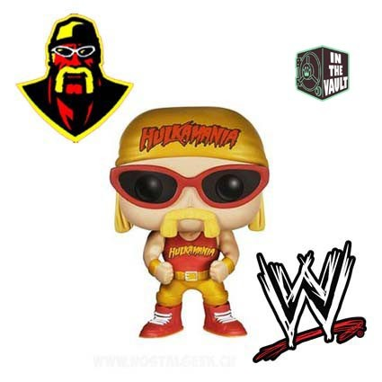 photos officielles 75ae8 fb7a0 Figurine Funko Pop! Sport: WWE - Hulk Hogan Catch Vaulted ...