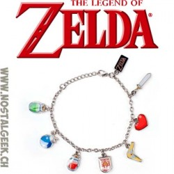 The Legend of Zelda The Wind Waker Charm Bracelet