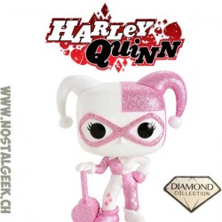 Funko Pop! DCHarley Quinn with Mallet (Pink Diamond Collection) Edition Limitée