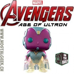 Funko Pop! Marvel Avengers Age Of Ultron Vision (Faded) Edition Limitée Vaulted
