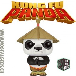 Funko Pop Movies Kung Fu Panda Po with Hat Exclusive Vaulted Vinyl Figure