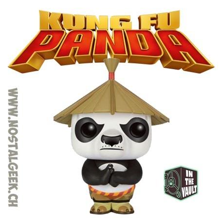 Funko Pop Movies Kung Fu Panda Po with Hat Exclusive Vaulted Vinyl Figure