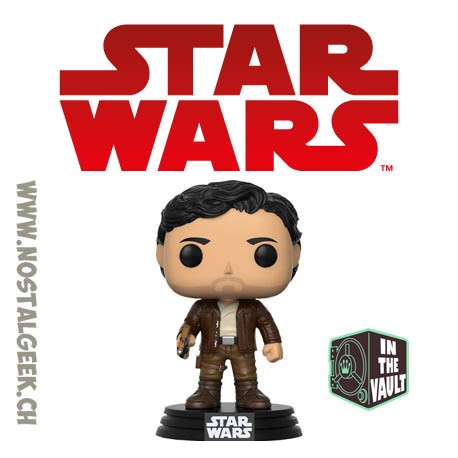 Funko Pop Star Wars Episode VII - Poe Dameron (The Last Jedi) Vaulted Vinyl Figure