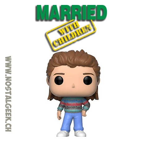 Funko Pop Television Married With Children Vinyl Figure Box Lightly Damaged box