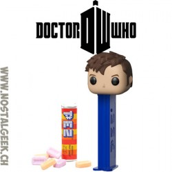 Funko Pop Pez Doctor Who Tenth Doctor Bonbon et Distributeur