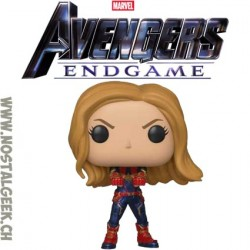 Funko Pop Marvel Avengers Endgame Captain Marvel (Endgame) Vinyl Figure