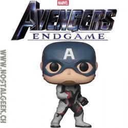 Funko Pop Marvel Avengers Endgame Captain America (Quantum Realm Suit) Vinyl Figure