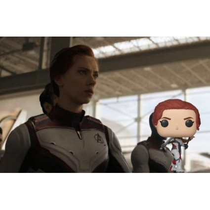 Toy Funko Pop Marvel Avengers Endgame Black Widow Quantum