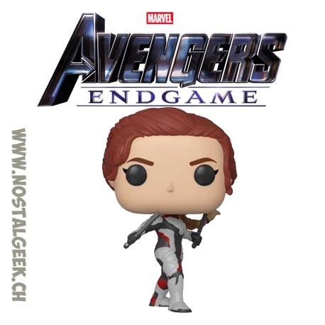 Toy Funko Pop Marvel Avengers Endgame Black Widow Quantum Realm Su