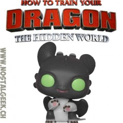 Funko Pop! How to Train Your Dragon 3 Night Lights (Black w/ Green Eyes) Allison