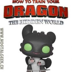 Funko Pop! How to Train Your Dragon 3 Night Lights (Black w/ Green Eyes) Allison