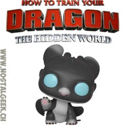 Funko Pop! How to Train Your Dragon 3 Night Lights (Black w/ Blue Eyes) Sherece Vinyl Figure