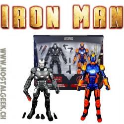 Marvel Legends 2 Pack Civil War War Machine & Iron Man Mark 27