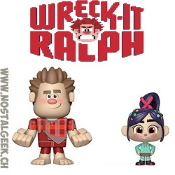 Funko Vynl. Disney Ralph Breaks Internet Wreck-It Ralph + Vanellope Vinyl Figures
