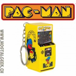 Pac-Man Arcade Keyring Retro Gaming Machine Keychain