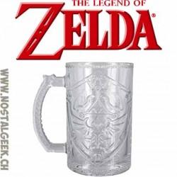 The Legend of Zelda Hylian Shield Glass