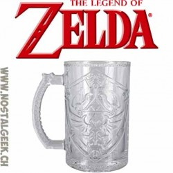 The Legend of Zelda Hylian Shield Glass