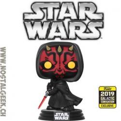 Funko Pop Star Wars Galactic Convention 2019 Darth Maul Edition Limitée