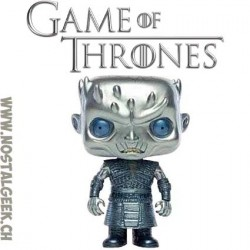 Funko Pop Game of Thrones Night King (Metallic) Exclusive Vinyl Figure