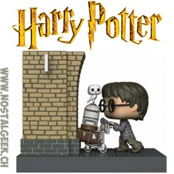 Funko Pop Movie Moments Harry Potter Entering Platform 9 3/4 Edition Limitée