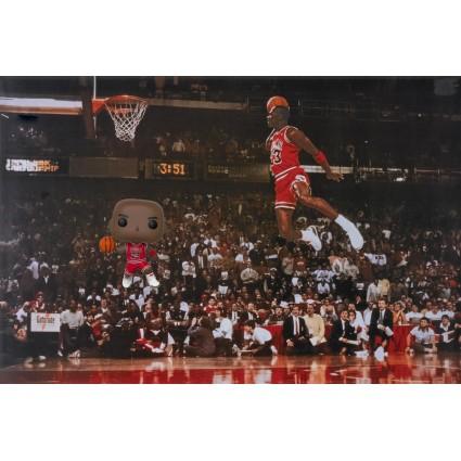 plus récent 4b96a 2b12e Toy Funko Pop Basketball NBA Michael Jordan (Slam Dunk ...