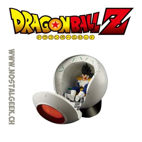 Figure-rise Mechanics Saiyan's Space ship Vegeta Pod Dragon Ball Z Bandai