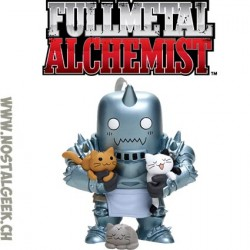 Funko Pop Animation FullMetal Alchemist Alphonse Elric with Kittens Exclusive Vinyl Figure