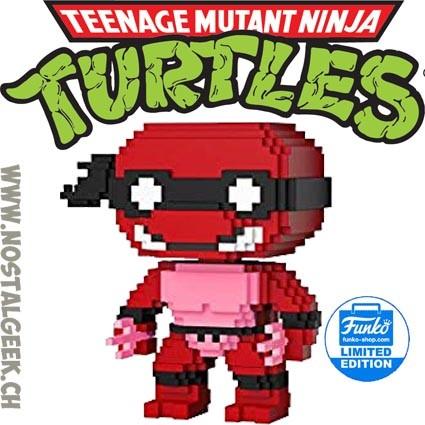 Teenage Mutant Ninja Turtles Néon 8-Bit Raphael Funko Shop Exclusive POP Vinyl