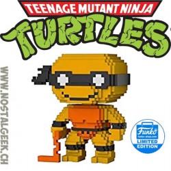 Funko Pop Teenage Mutant Ninja Turtles 8-bit Michelangelo