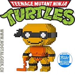 Funko Pop Teenage Mutant Ninja Turtles 8-bit Michelangelo