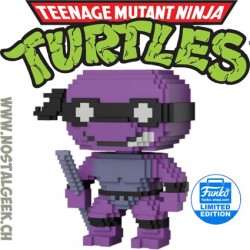 Funko Pop Teenage Mutant Ninja Turtles 8-bit Donatello Vinyl Figure