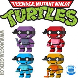Bundle Funko Pop Teenage Mutant Ninja Turtles 4 figurines Limitées