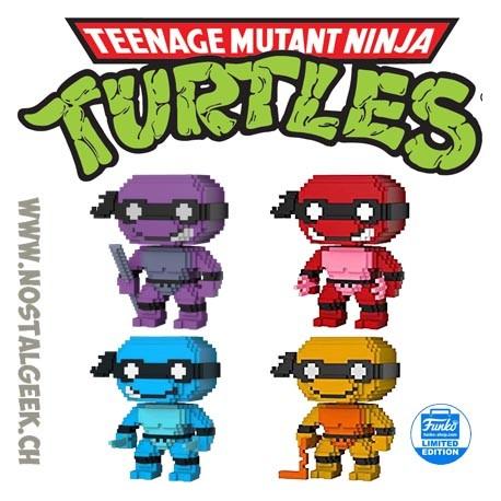 Bundle Funko Pop Teenage Mutant Ninja Turtles 4 Exclusive Vinyl Figures