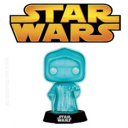 Funko Pop! Star Wars Holographic Emperor Phosphorescent Edition Limitée