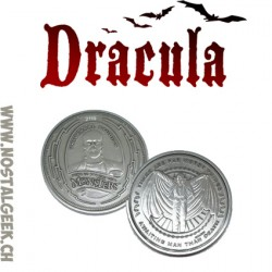 Dracula Collector's Limited Edition Coin: Silver Variant