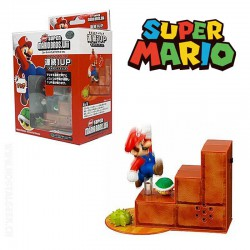 Super Mario Bros Wii 1up Turtle Tip Mini Action Sound Figure
