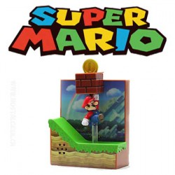 Super Mario Bros Wii Coin Action Sound Figure