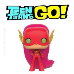 Funko Pop! Tv Teen Titans Go Starfire As The Flash Eidition Limitée