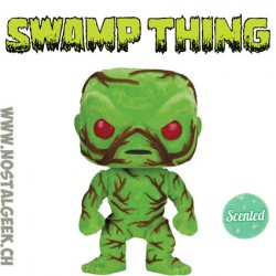 Funko Pop! DC Super Heroes Swamp Thing GITD Exclusive