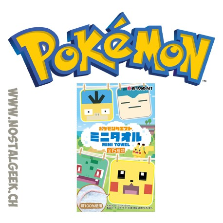 Pokemon Quest Mini Towel (21 X 21 cm)