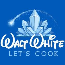 T-shirt Breaking Bad - Walt White Disney
