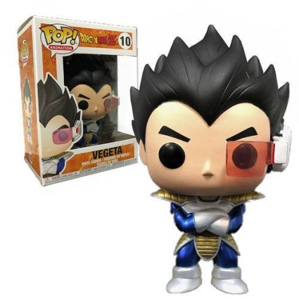 Toy Funko Pop Anime Dragonball Z Vegeta Metallic