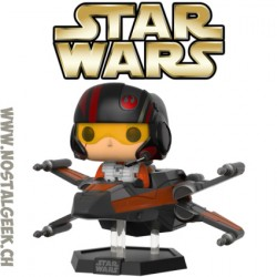 Funko Pop Ride Star Poe Dameron with X-Wing Vinyl Figure