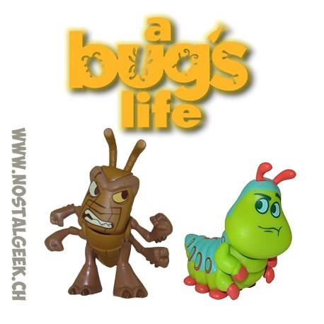 Bundle Funko Disney Mystery Minis Heroes Vs. Villains A Bug's Life Hopper and Heimlich Vinyl Figure