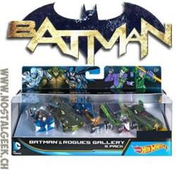 Hot Wheels DC Batman Coffret de 5 véhicules