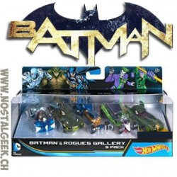 Hot Wheels DC Batman 5 pack of vehicles