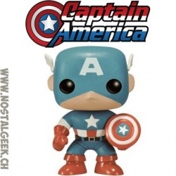 Funko Pop Marvel Captain America Civil War Rare Vinyl Figure