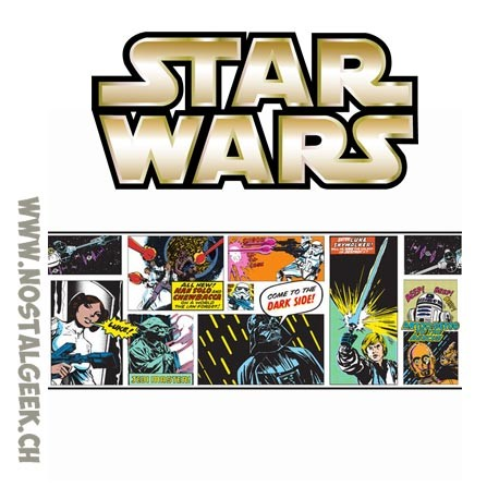 Star Wars Self-Adhesive Border 5m x15,6 cm
